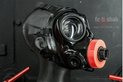 Image de AirTube S10 gasmask outlet  fitting