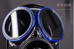 Fetishak S10 gasmask blindfolds